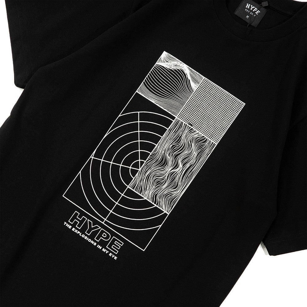 Seasonal Explosion Tee | Black/ White