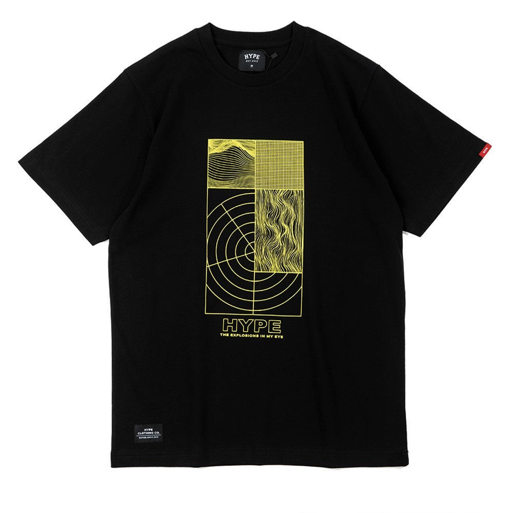 Seasonal Explosion Tee | Black/ Yellow