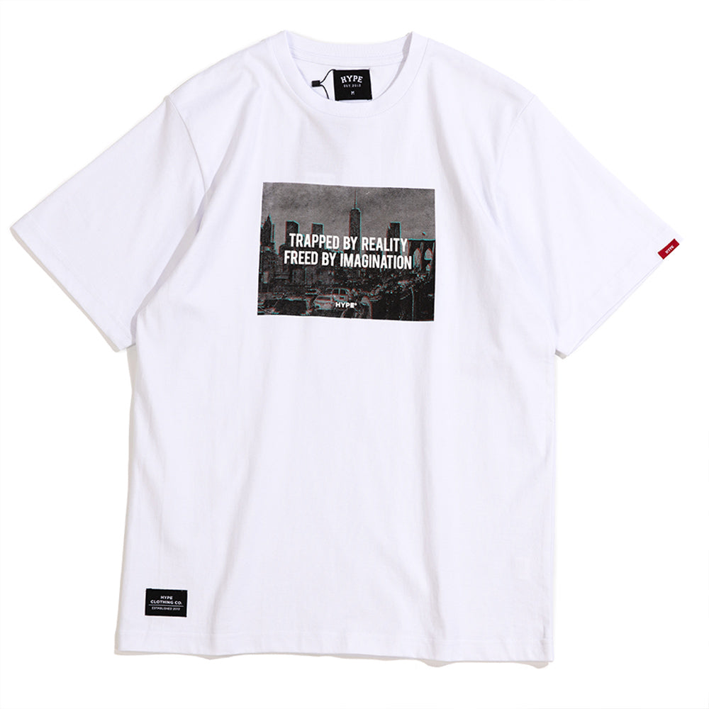Seasonal Imagination Short Sleeve Tee | White