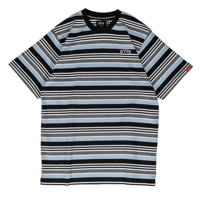 Signature Chief Stripe Tee | Blue