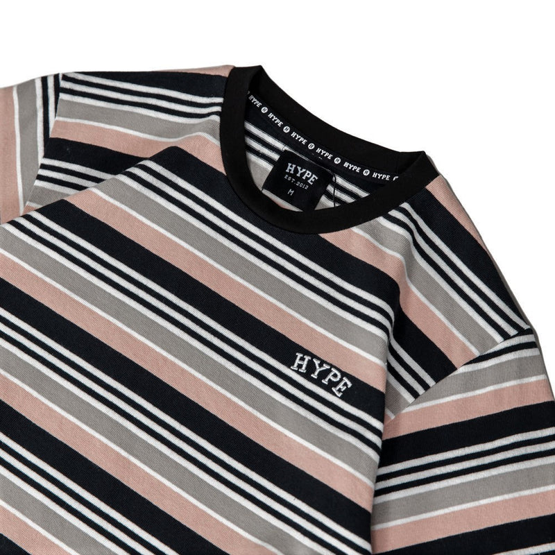 Signature Chief Stripe Tee | Pink