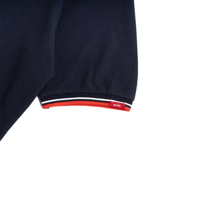 Signature Chief Polo Tee | Navy / RedWhite