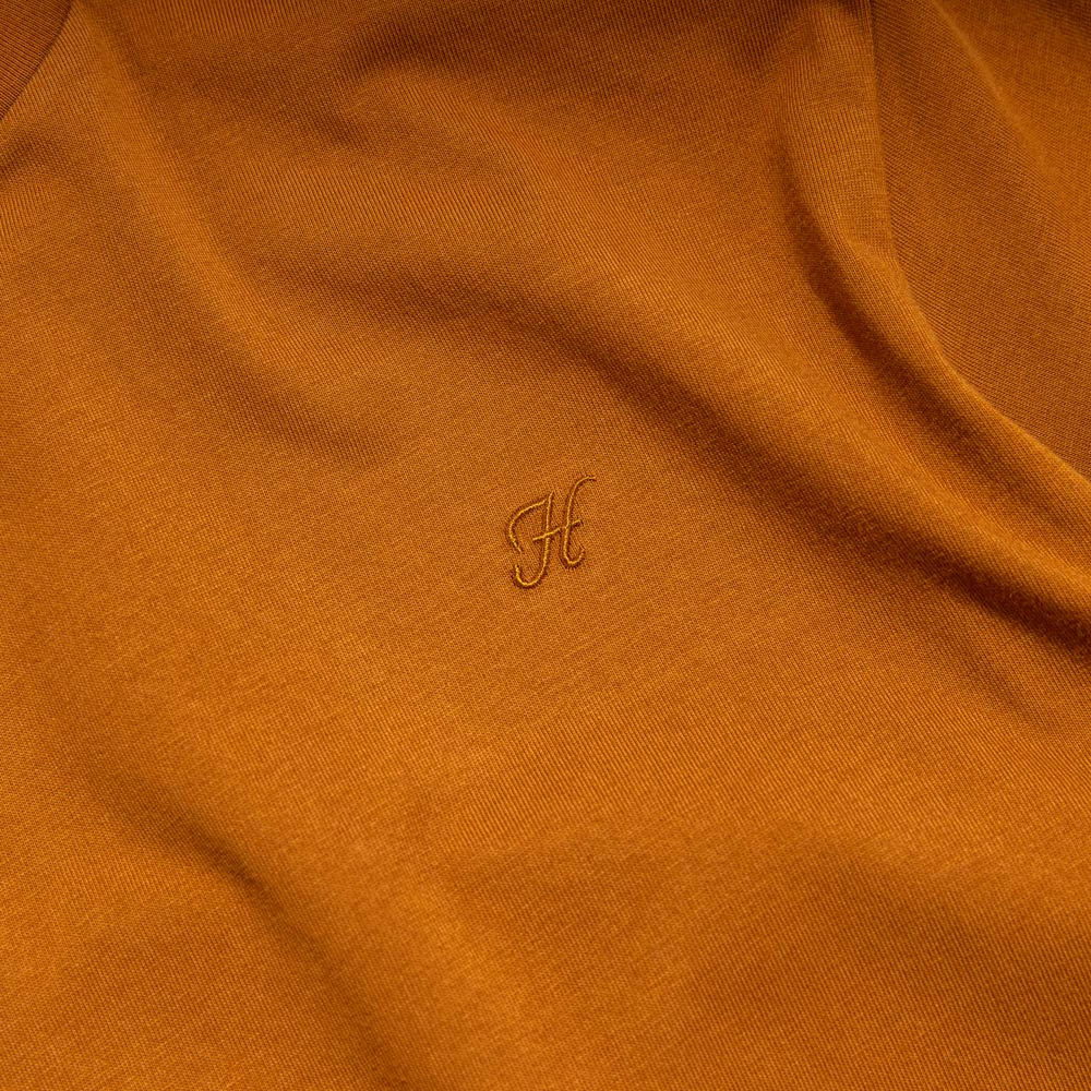 Basic H Logo Tee | Brown