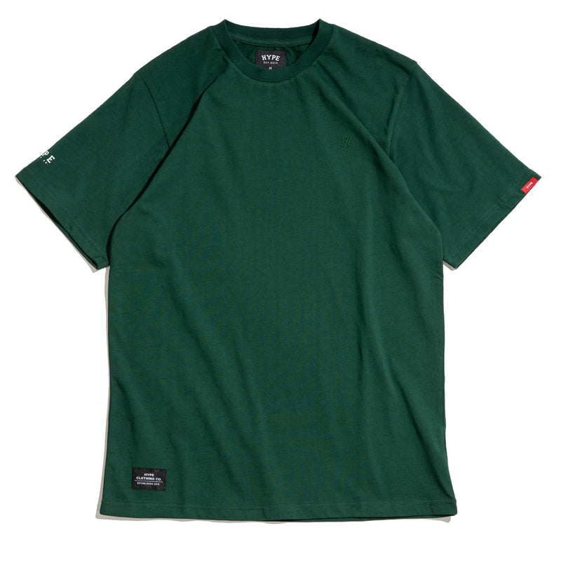 Basic H Logo Tee | Green
