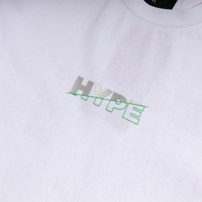 Seasonal Luke Tee | White