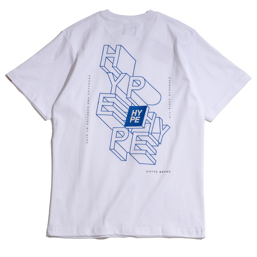 Seasonal Extrude Tee | White
