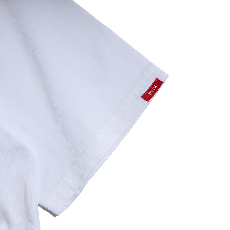 Seasonal Fluores Tee | White