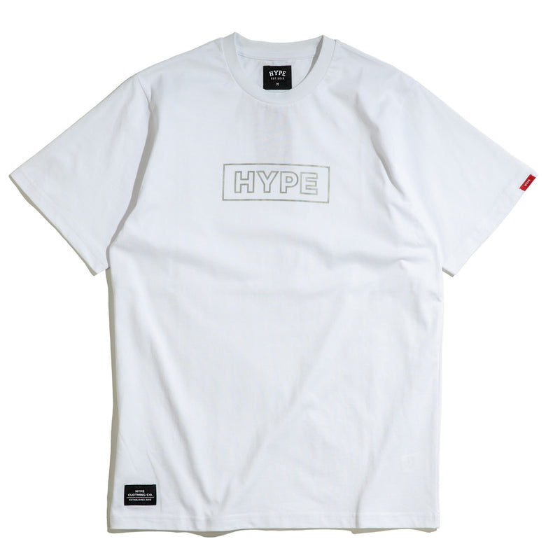 Seasonal Reflective Tee | White