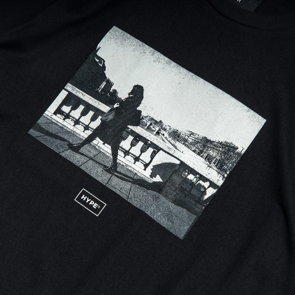 Seasonal Cheverny Tee | Black