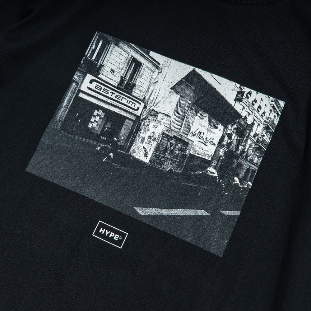 Seasonal Street Tee | Black