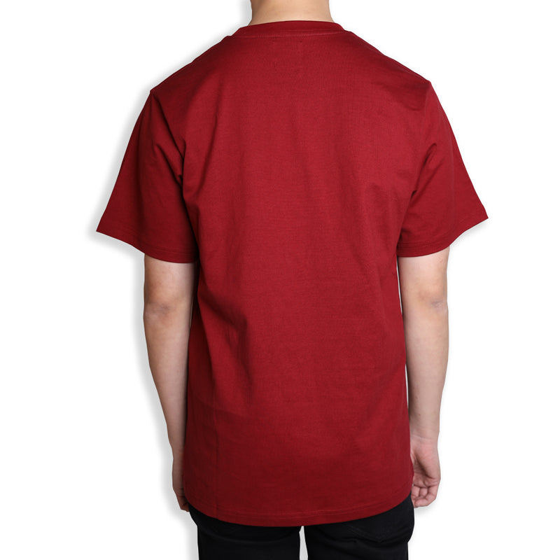 Seasonal Edison Short Sleeve Tee | Maroon