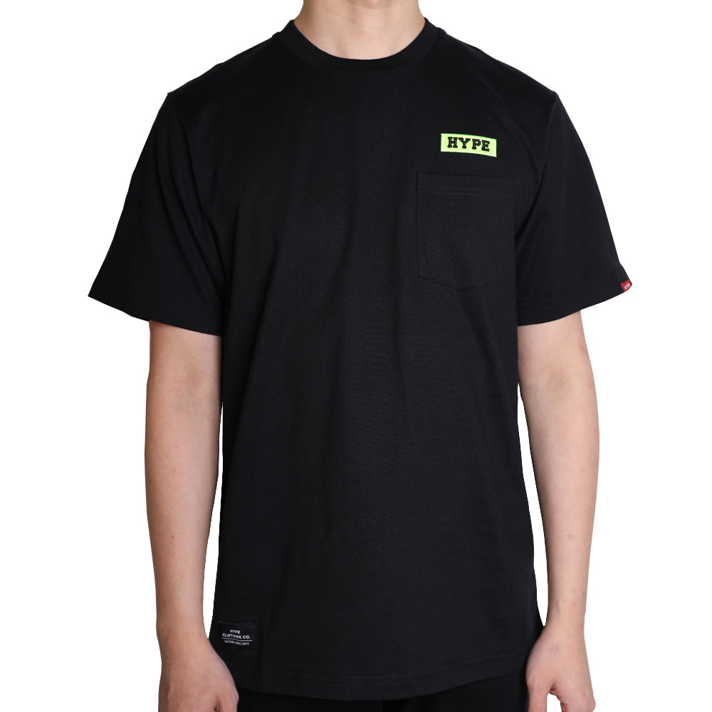 Signature Major Pocket Tee | Black