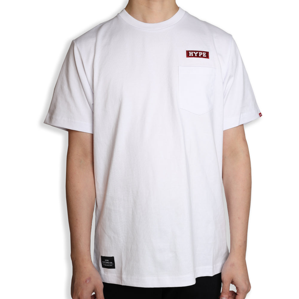 Signature Major Pocket Tee | White