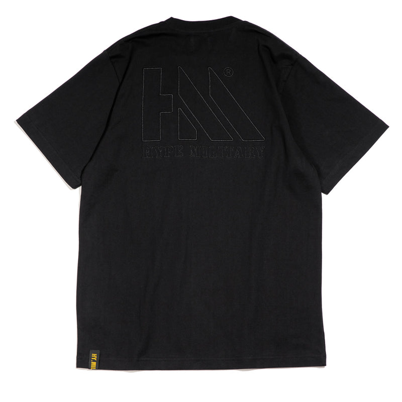 Capsule Military Charlie Pocket Tee | Black