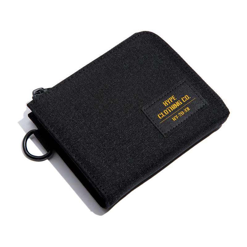 Capsule Military Command Half Zip Wallet | Black