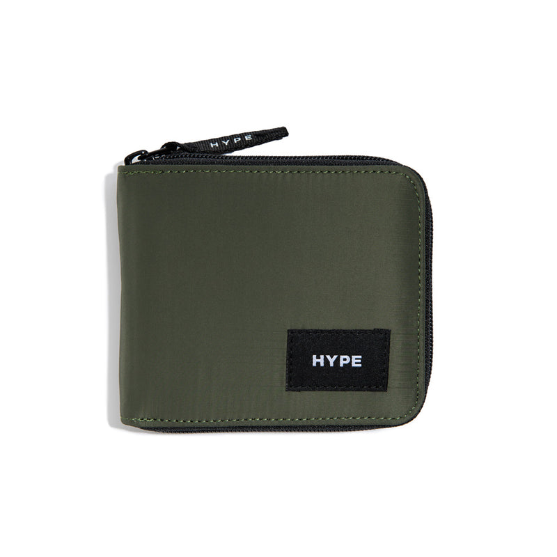 Signature Juliette Zip Wallet | Olive