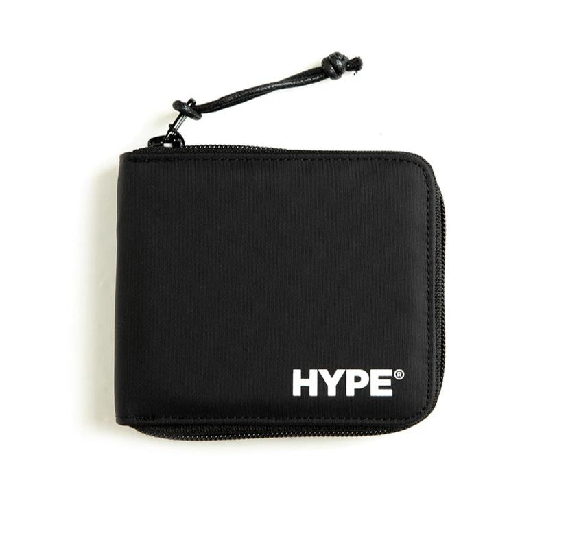 Capsule Technical Zip Wallet | Black