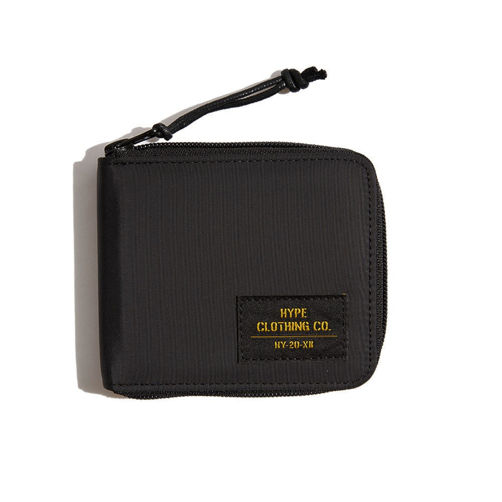 Capsule Military Zip Wallet | Black