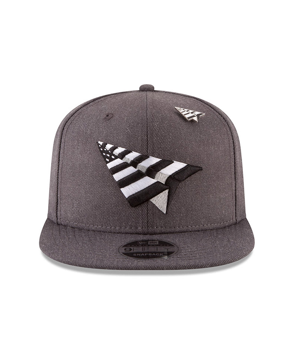 The Charcoal Crown Snapback