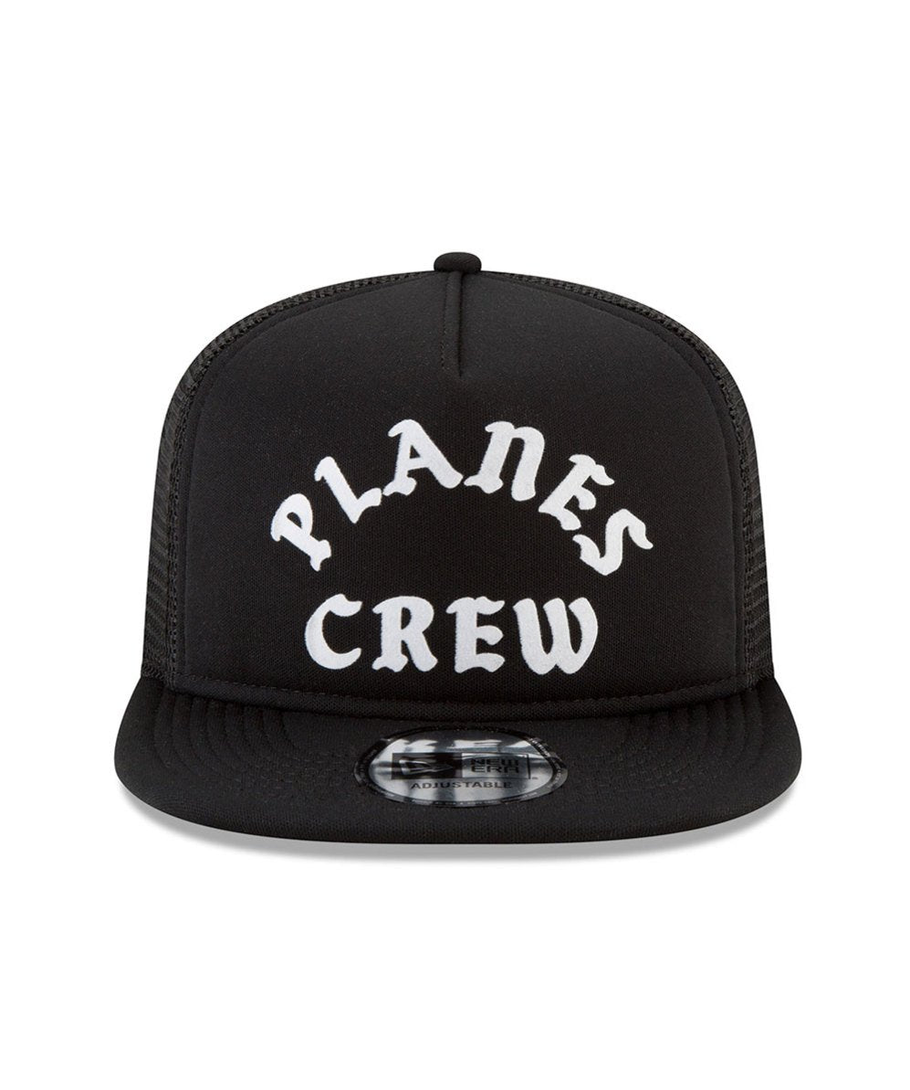 Planes Crew Trucker Old School Snapback Black