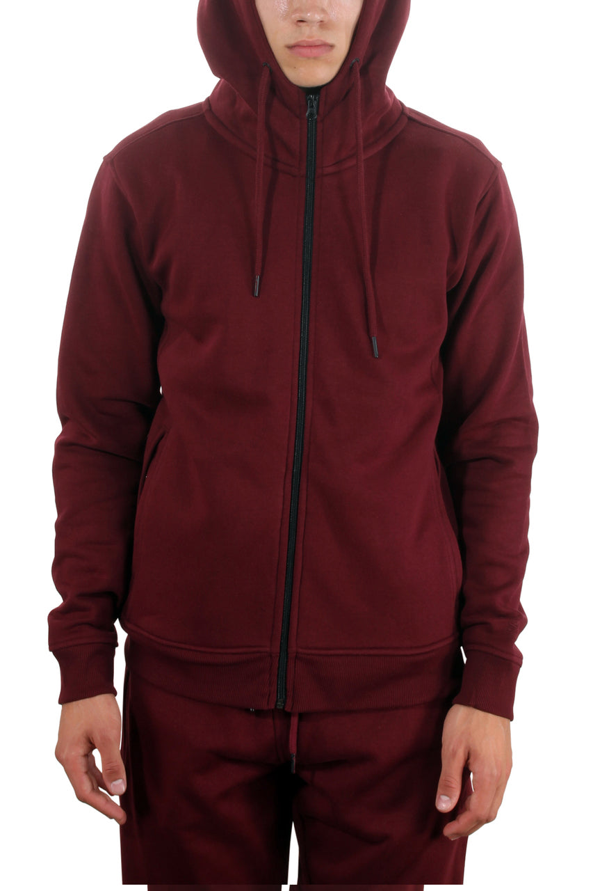 Basic Fleece Pant Wine