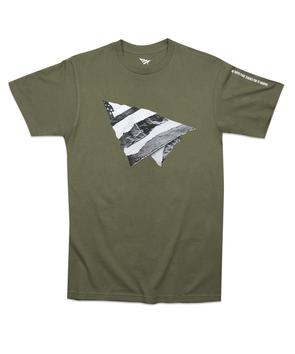 Rip and Repair Tee Military Green