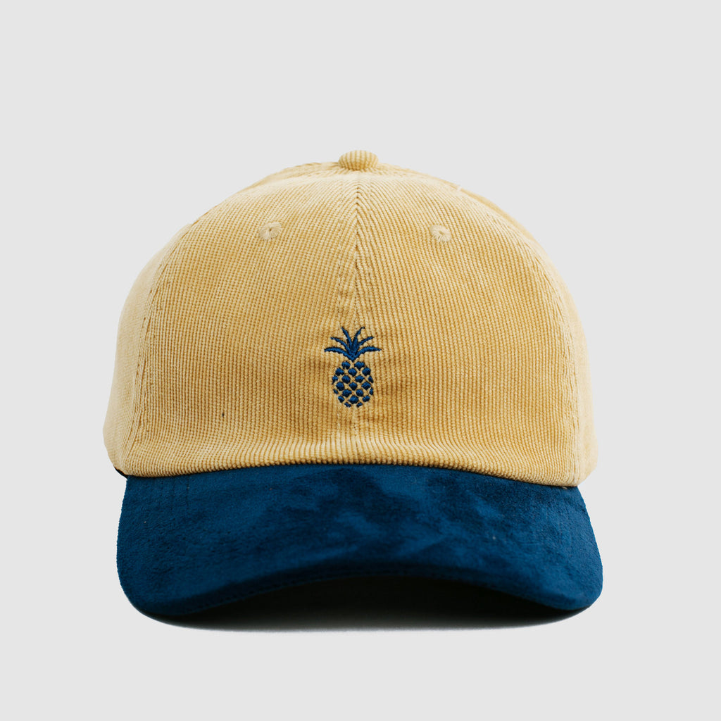 Pineapple Navy/Mustard Two-Tone Cap