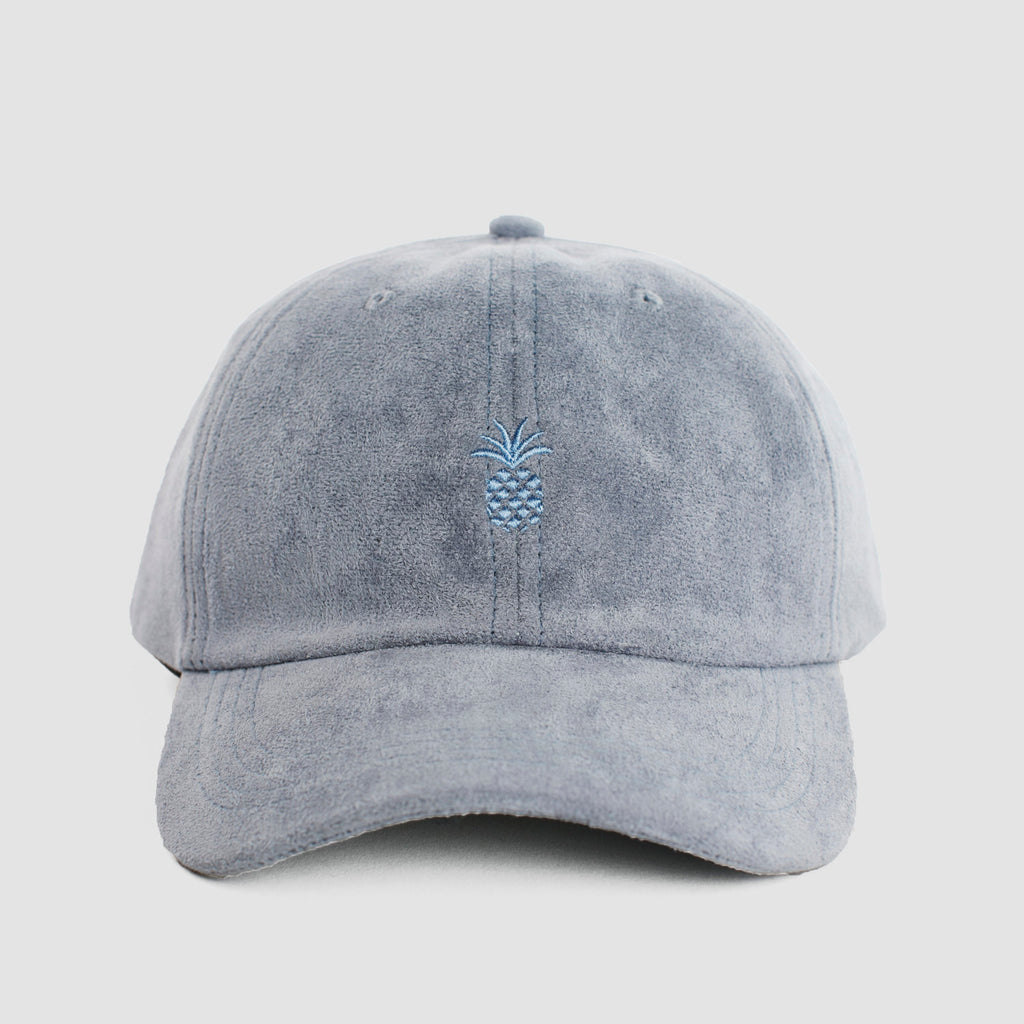 Pineapple Microsuede Cap Smoky Blue