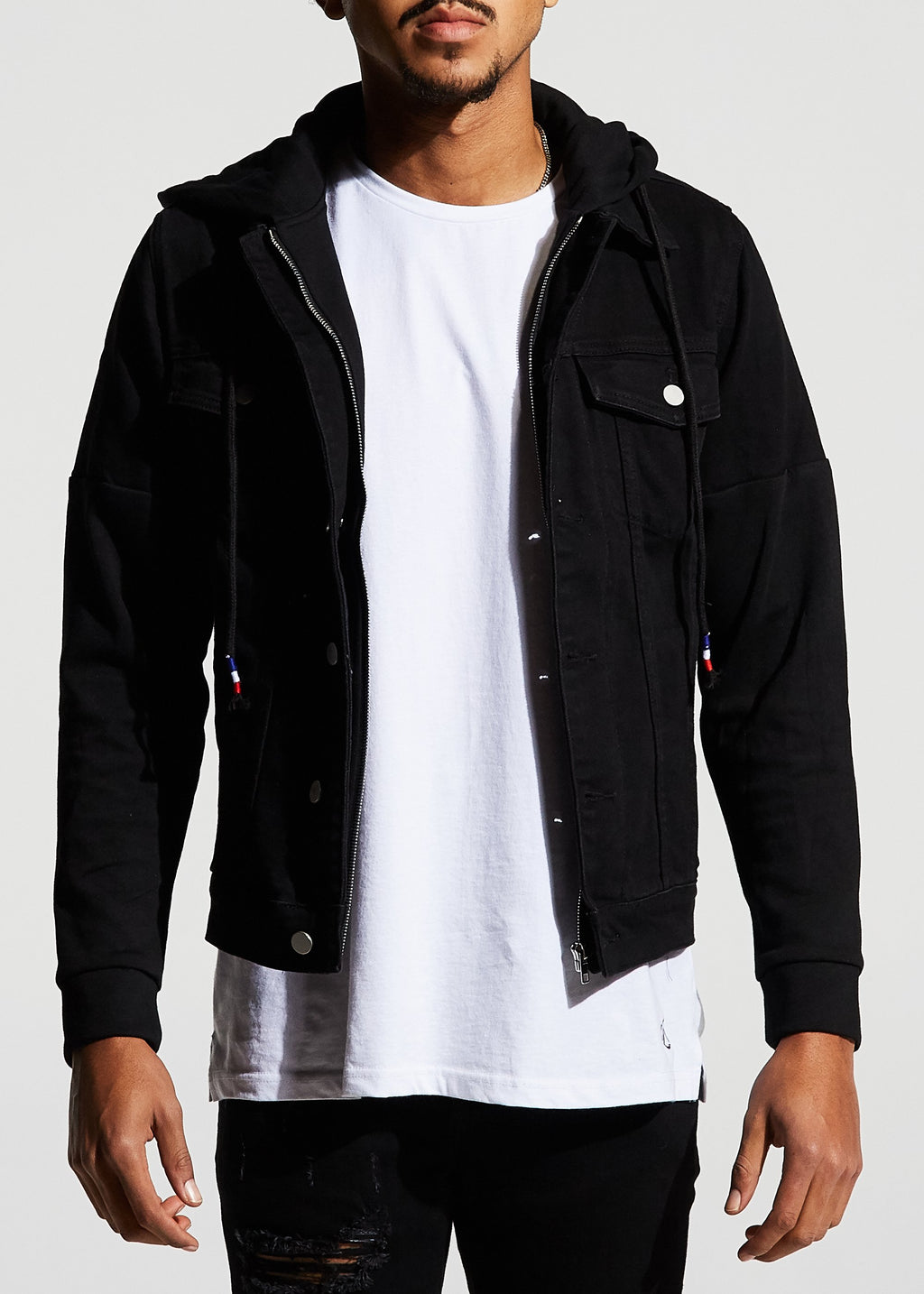 Manuel Denim Jacket (Black)