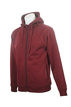 Basic Fleece Hoody Wine