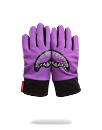 Purple 3M Shark Mouth Gloves