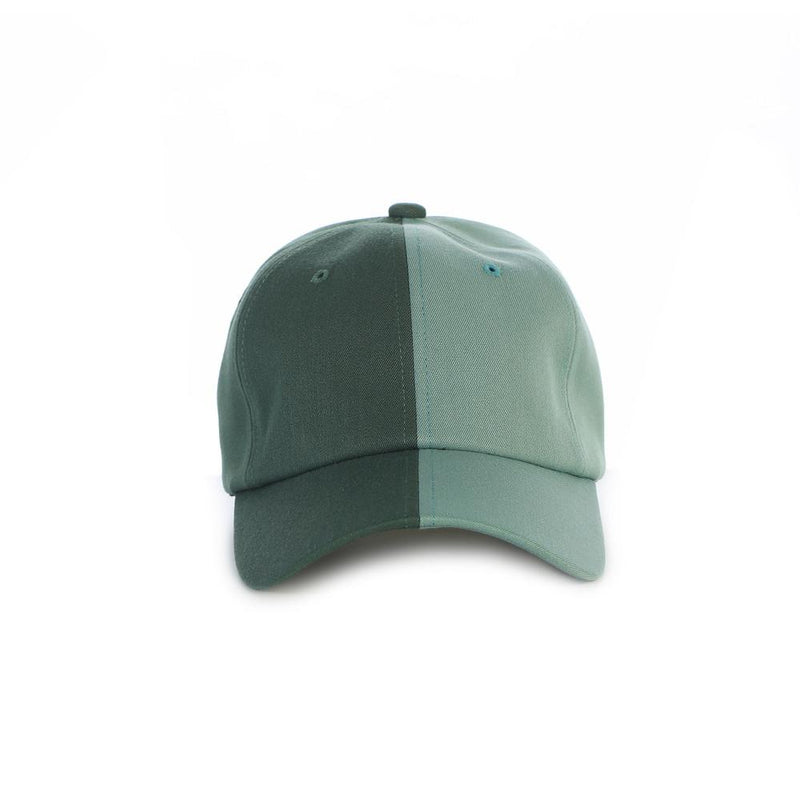 Green Emerald Split Dad Hat