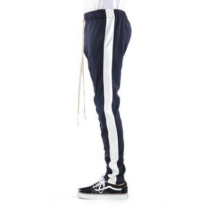 Navy Ivory Track Pant
