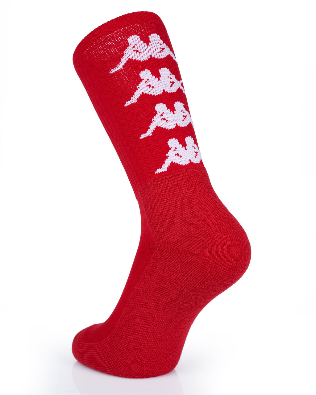 Authentic Amal 1 Pack Red Dk White Socks