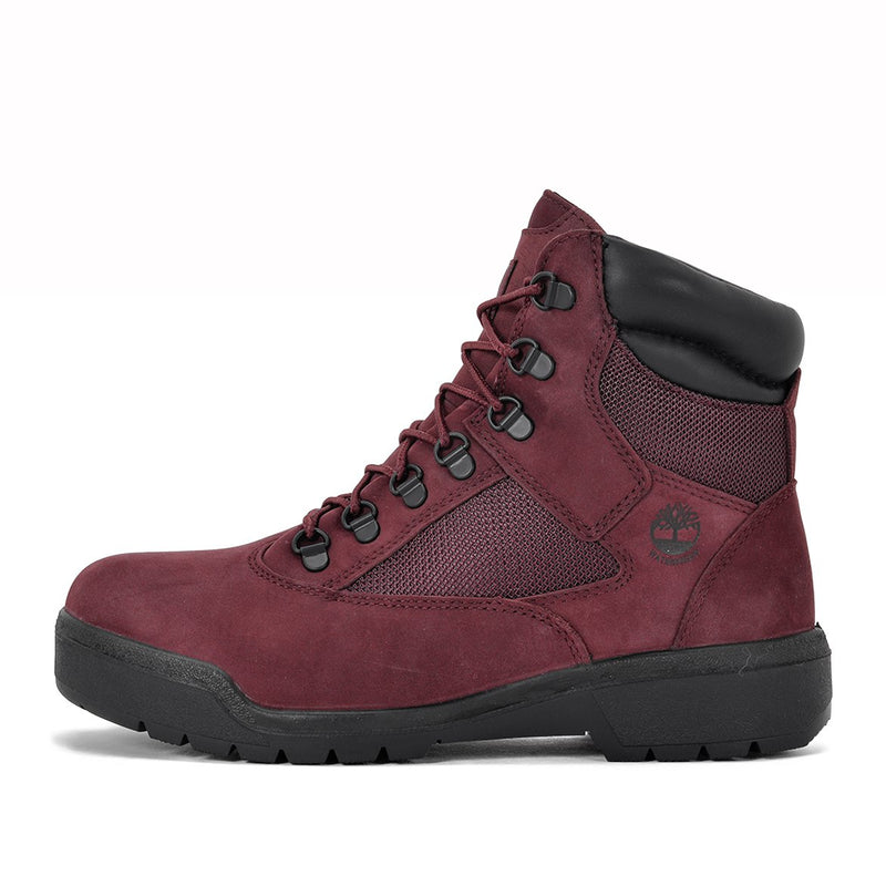 Timberland 6in Field Boot Burgundy