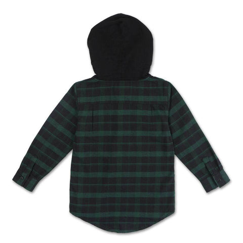 George Hooded Flannel