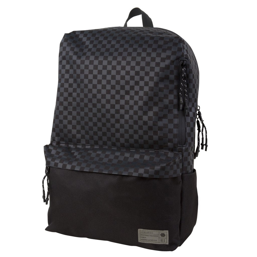 Aspect Exile Black Checker Backpack