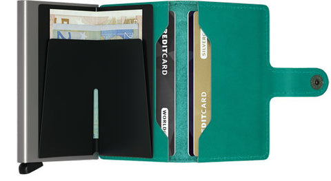 Mini Wallet Emerald