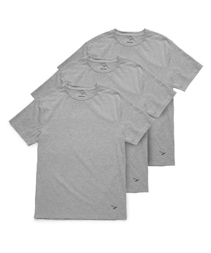 Essential 3 Pack Tees Grey