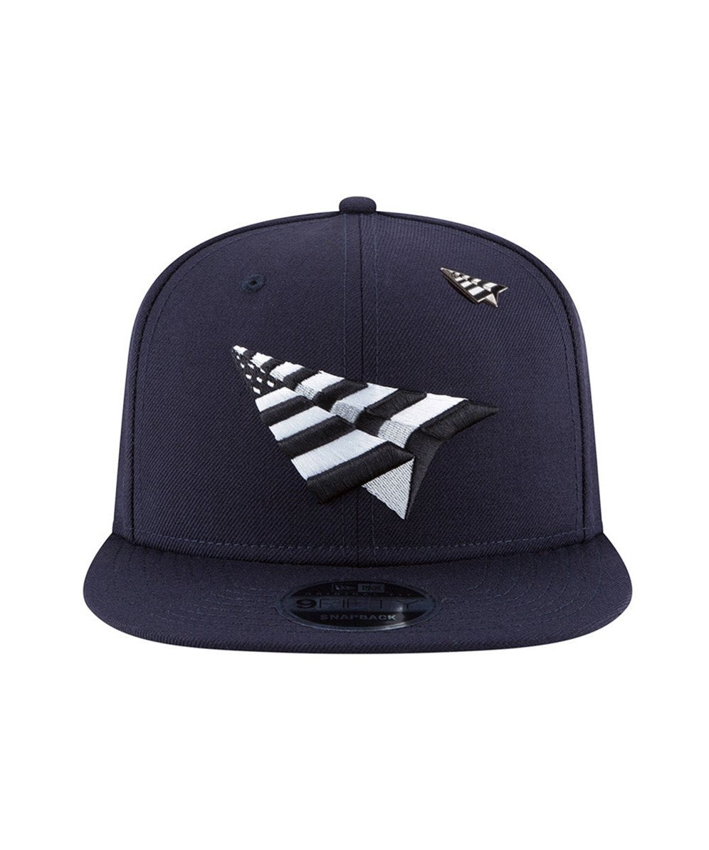 The High Crown Navy Boy Snapback