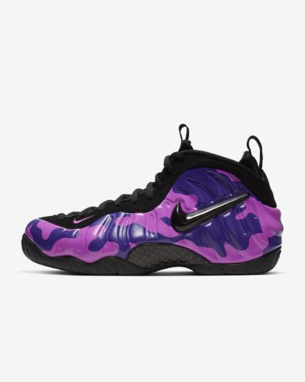 "Air Foamposite Pro ""Purple Camo"""