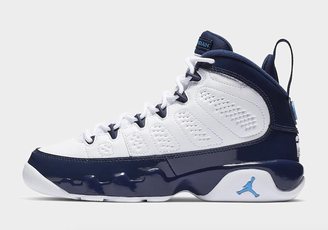 "Air Jordan 9 Retro ""Unc"" GS"