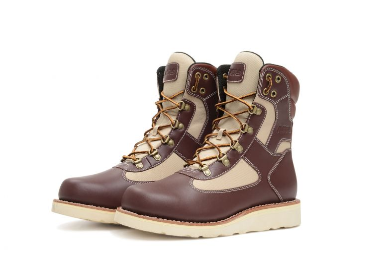 Welt High Burgundy-Beige