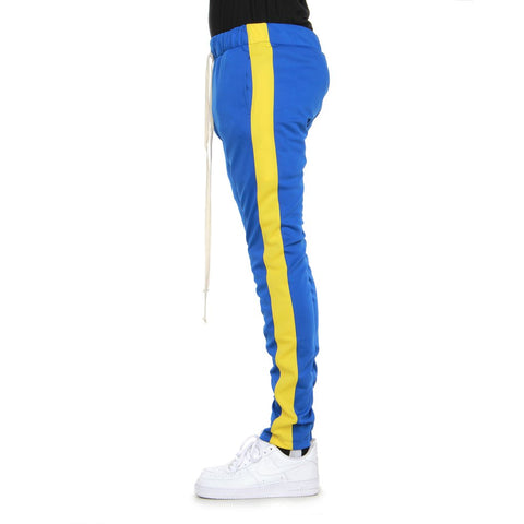 Blue/Yellow-Track Pants