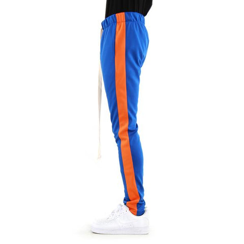 Blue/Orange-Track Pants