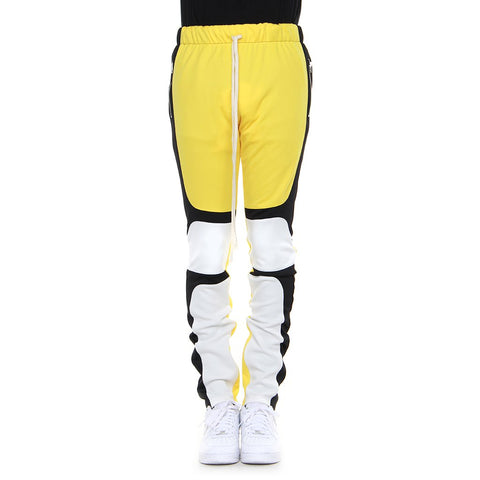 Yellow/Black/Off White Motocross Pants