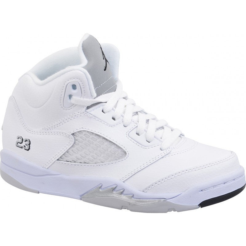 "Air Jordan 5 Retro ""Metallic Silver"" PS"