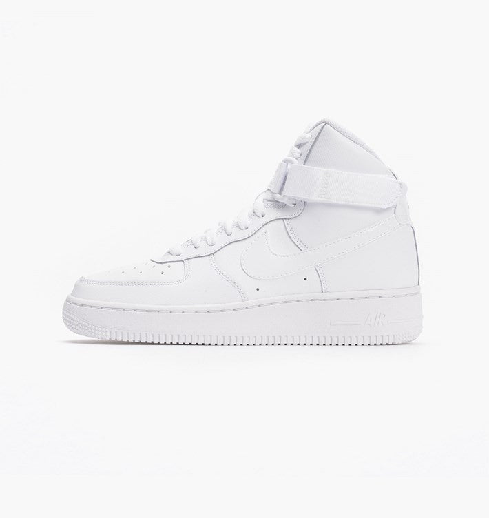 Air Force 1 High White/White GS