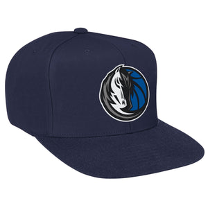 Dallas Mavericks Wool Solid Snapback