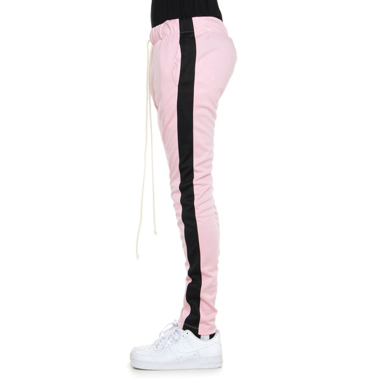 Dusty Pink/Black-Track Pants